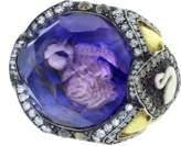 Sevan Biçakci Swan Amethyst Ring