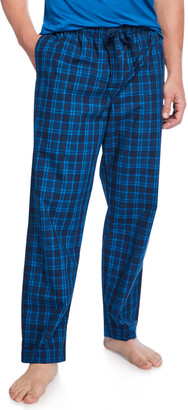 Derek Rose Men's Barker 24 Plaid Lounge Pants