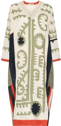 Vita Kin Mombasa embroidered kaftan dress