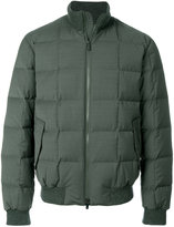 Z Zegna zipped padded jacket