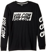 Volcom Chopper Long Sleeve Tee Boy's T Shirt