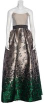 Carolina Herrera Jacquard Strapless Gown w/ Tags