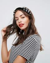 Asos Pearl Twist Headband