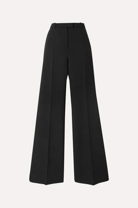 Givenchy Wool-blend Twill Flared Pants - Black