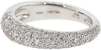 Kwiat 18kt White Gold Diamond Band Ring