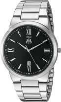Jivago Men's JV3511 Clarity Analog Display Quartz Silver Watch