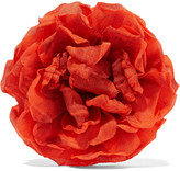 Gucci Floral Silk Brooch - Bright orange