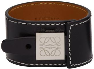 Loewe Black Wrap Bracelet