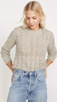 ENGLISH FACTORY Fuzzy Knit Sweater