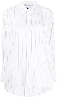 Hope Striped Print Shirt