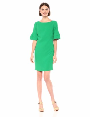 Trina Turk Women's Soujourn Flare Sleeve Shift Dress