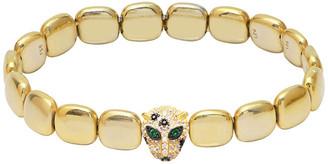 GABIRIELLE JEWELRY Gold Over Silver Cz Bracelet
