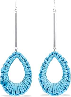Ben-Amun Ben Amun Silver-tone Cord Earrings