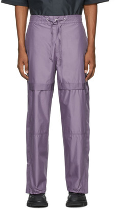 3.1 Phillip Lim Purple Chintz Poplin Jogger Lounge Pants