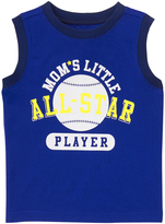 Crazy 8 Pacific Surf Blue 'Mom's Little All-Star' Tank - Infant & Toddler