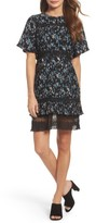 Chelsea28 Women's Pleated Lace Dress