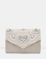 Forever New Lena Embellished Clutch