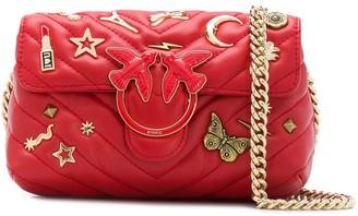 Pinko Love embellished shoulder bag