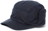 Barbour Navy Waxed Cotton Carpenters Hat