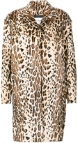 Yves Salomon Leopard Fur Coat