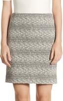 Akris Punto Women's Stretch Jersey Mini Skirt