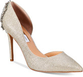 INC International Concepts Women's Kesya Embellished d'Orsay Pumps, Only at Macy's