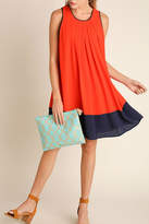 Umgee USA Color Block Dress