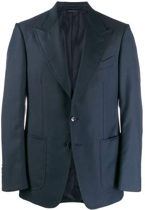 Tom Ford Shelton peak collar blazer
