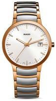 Rado Centrix Stainless Steel & Rose Gold PVD Watch, 38mm