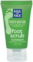 Kiss My Face Luxurious Organic Foot Scrub - Peppermint - 4 oz