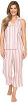 BedHead Sleeveless Cropped Bottom Pajama Set