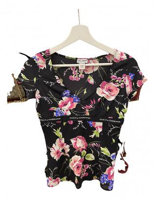Dolce & Gabbana Multicolour Tweed Tops