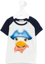 Moncler duck print T-shirt - kids - Cotton/Spandex/Elastane - 3 yrs