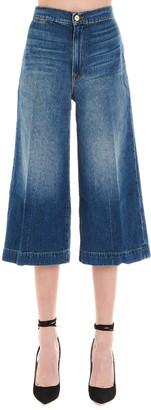 Frame High Rise Culotte Jeans