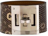Hermes Lizard Kelly Bracelet