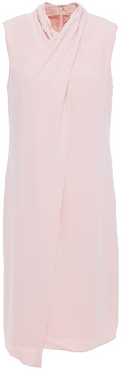 Halston Layered Cady Dress
