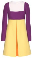 Valentino Colour-block Crepe Dress