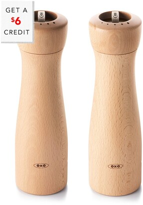 OXO Good Grips Wood Mill Set With $12 Credit