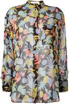Chloé fruit print blouse - women - Silk - 38