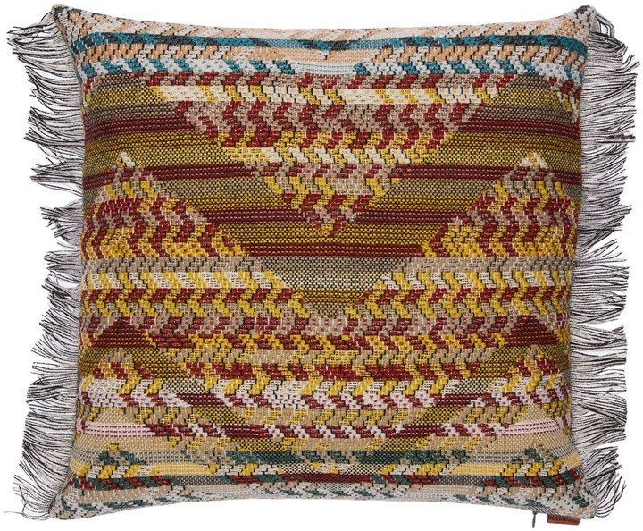 Missoni Small Yannoulis Wool Blend Pillow