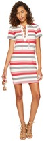 BB Dakota Lijah Stripe Knit + Rib Trim Dress Women's Dress