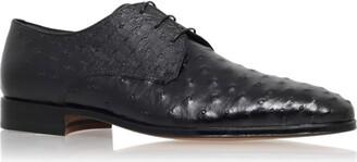 Stemar Ostrich Derby Shoes