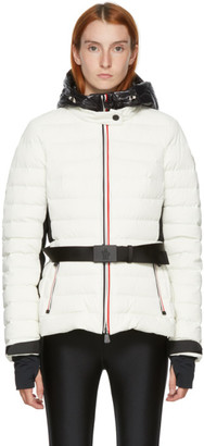 MONCLER GRENOBLE White Down Bruche Puffer Jacket
