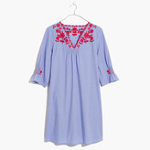 Madewell Embroidered Breeze Dress