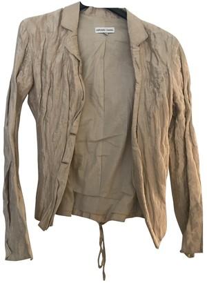Gerard Darel Camel Silk Top for Women