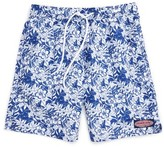 Vineyard Vines Boy's Ocean Floral Bungalow Board Shorts