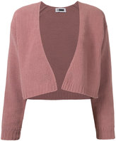 H Beauty&Youth cropped button-less cardigan