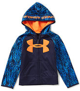 Under Armour Little Boys 4-7 Digital Wave Big Logo Hoodie Jacket