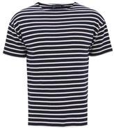 Armor Lux Doélan Breton Stripe Tshirt - Navy/nature Cream
