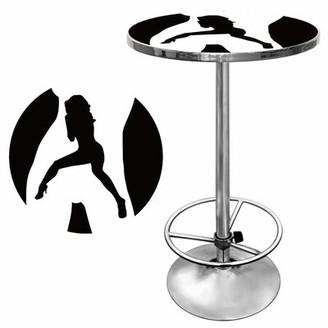 Trademark Global Shadow Babes C Series Pub Table